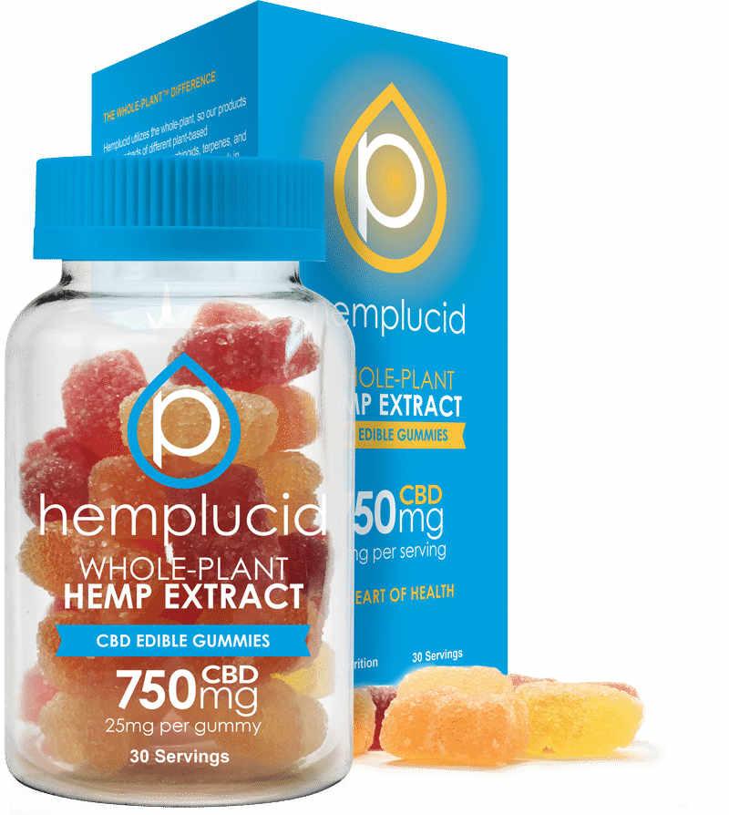 Hemplucid Gummies Bottle